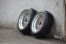 "2 Piece SSR Mesh Wheels 15"" 7J 5x114.3 75mm CB Pair 175/60/15 E9546"