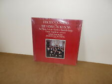 PLACIDO DOMINGO and THE VIENNA CHOIR BOYS - LP USA 1980 - SEALED - classical