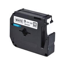Schriftband-Kassette Tape für Brother PT-65//PT-70//PT80 auf Weiß 9mm 8m V1D6