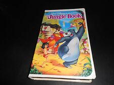RARE (THE JUNGLE BOOK) VHS (WALT DISNEY'S) BLACK DIAMOND ORIGINAL TAPE.