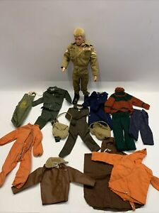 Vintage 1960s Original Action Man Figure With Part Uniform Palitoy 1960's