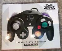 Nintendo GameCube GC Official Controller Super Smash Bros Special Black Wired