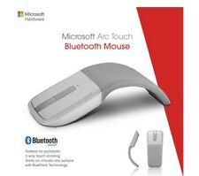 Genuine Microsoft Arc Touch Bluetooth Mouse Curve Mice Wireless For MAC Windows