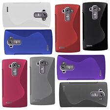 LG g4-S-Style S-Line TPU Custodia Protettiva Protezione Case Cover Astuccio Borsa Cappuccio