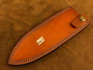 Handmade Leather Sheath for Custom Knife-Knife Sheath Cover Pouch- BGS1