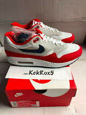 NIKE AIR MAX 1 USA QUICK STRIKE BETSY ROSS FLAG 4TH OF JULY CJ4283-100 SIZE 8