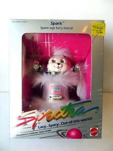VINTAGE SHIMERRON SPECTRA SPACE DOLL SPARK DOG SPACE-AGE FURRY FRIEND 1986