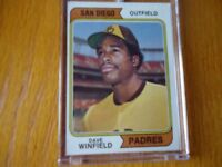 1974 TOPPS ROOKIE DAVE WINFIELD SAN DIEGO PADRES