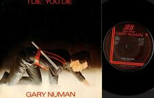 "GARY NUMAN i die: you die/down in the park (uk 1980) 7"" PS EX/VG BEG 46 synth"