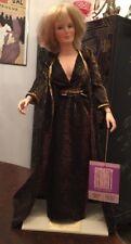 Vintage World Doll •.Dynasty's Krystle Carrington • Linda Evans • Doll & Stand