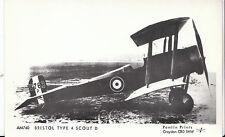 Aviation Postcard - Bristol Type 4 Scout D    A7348