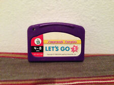 leap frog : Let's go j'apprends l'anglais cartridge FRENCH
