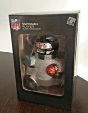 NFL Snowman Player Blown Glass Ornament,Philadelphia Eagles