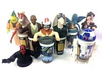 VINTAGE 1999 STAR WARS  CUPS EPISODE 1  KFC  PIZZA HUT, TACO BELL -New Other