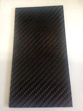 Plaque carbone 3/mm x 200/mm x 100/mm carbone Plaque satin/é