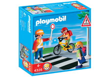 Playmobil 4328 School Crossing Guard with Kids mint in Box New Playmobile 176