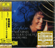 MARIA JOAO PIRES (PIANO)-CHOPIN: NOCTURNES -JAPAN SHM-CD D46