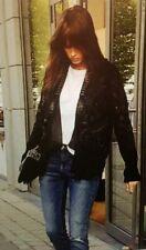 Abrigos y chaquetas Zara Terciopelo Negro para Mujeres | eBay