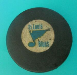 VINTAGE St. Louis Blues NHL ART ROSS CONVERSE GAME HOCKEY PUCK RARE