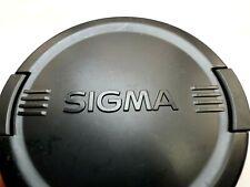 SIGMA 77mm Front Lens Cap snap on type Genuine original OEM EX APO LCF