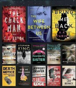 Lot of (10) Random Fiction Books Thriller Mystery Paperbacks Patterson King