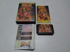 Bare Knuckle III + Extra Command Sheet Sega Megadrive Japan