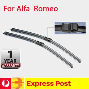 Pair Windscreen Wiper Blade  For alfa romeo 147 my05-10 2005-2010