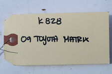 2009-2013 TOYOTA MATRIX TRUNK LID KEY CYLINDER LOCK K828