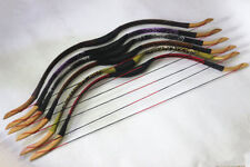"30lb 43"" Handmade  Recurve Bow Traditional Archery Random Bows Random Color"