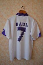 Real Madrid Retro #7 Raul taquy Camiseta Jersey Teka Camiseta