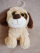 "NEW NWT PRIMARK EARLY DAYS BROWN PUPPY DOG SOFT TOY 2015/6 9"" COMFORTER"