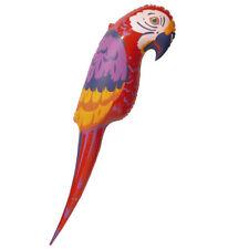 Riesengroßer aufblasbarer Papagei 110 cm - Hawaii - Sommer - Strand