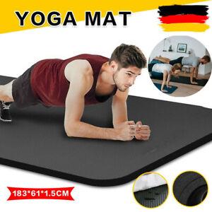 Yogamatte Fitnessmatte Sportmatte Bodenmatte Gymnastikmatte Pilates Fitness DHL