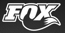 Fox logo Vinyl Sticker Decal Car Window Mountain Bike mtb