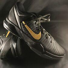 Nike Zoom Kobe VII 7 System Elite ShoesBlack/Metallic Gold 511371-001 Sz 12