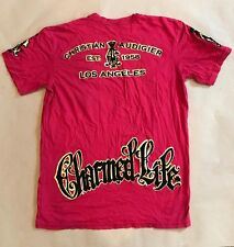 New Men's Christian Audigier Red Shirt sz LARGE