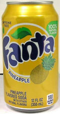EMPTY UNOPENED 12oz Can Coca-Cola Fanta Pineapple Limited Production USA 2011