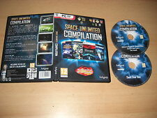 Compilación de Espacio Ilimitado Pc 4 Juegos! galáctica civilizaciones II 2 pecados Solar