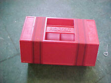 BS1 Vintage Red Rolykit Roly kit tool nuts bolts storage cabinet EXC. condition.