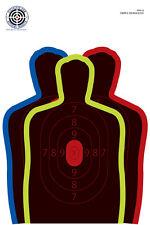 "NS-12 [NS12] Three Silhouette Splatter Target [12"" x 18""] (9)"