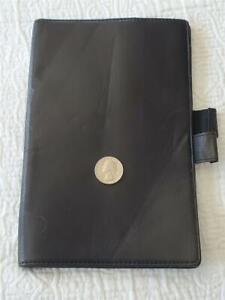 (L15) VINTAGE LEVENGER BLACK PAD HOLDER