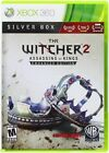 The Witcher 2 Assassins Of Kings Enhanced Ed. Silver Box USED SEALED Xbox 360