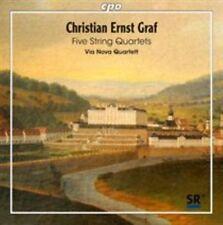 Christian Ernst Graf: Five String Quartets, New Music
