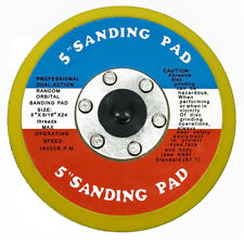 """NEW 5"""" Hook and Loop FACE SANDING PAD FOR DA SANDER PALM D/A USA Nylon buckle"""