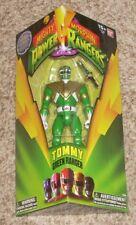 2016 BanDai Legacy Power Rangers 5 Inch Green Tommy Action Figure NIB