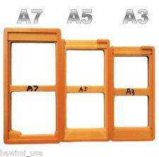 3X SET UV Glue LOCA LCD Alignment Mould Mold For Samsung Galaxy A3 / A5 / A7 New