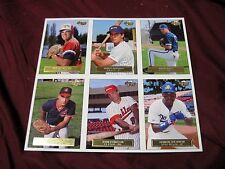 RARE 1992 '93 FLEER EXCEL BASEBALL UNCUT SHEET MINT