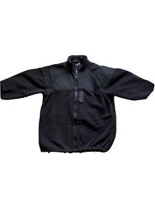 Navy NWU GORE-TEX PARKA LINER Black Polartec Fleece Jacket  Medium/Reg Like New!