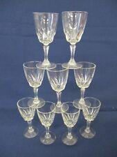 9x Liquer Glasses-Sherry-Port- 11cm tall- 5cm Dia