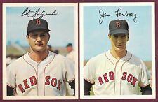 1967 Dexter Press Boston Red Sox Team Set Yastrzemski Lonborg Scott Foy (12)
